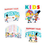 KIDS OF IMMIGRANTS x HEY ARNOLD STICKER PACK