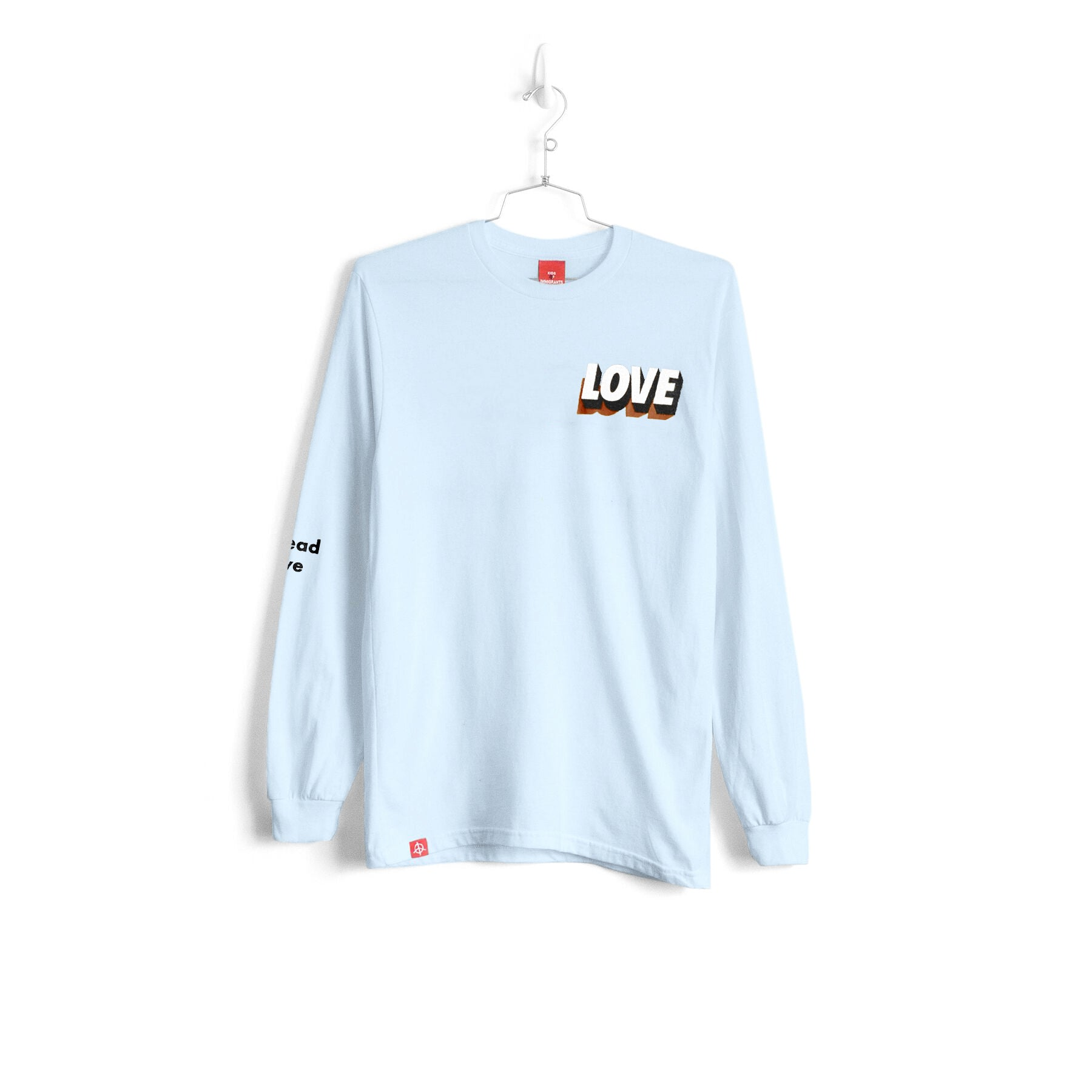 SPREAD LOVE 3.0 L/S - CHAMBRAY
