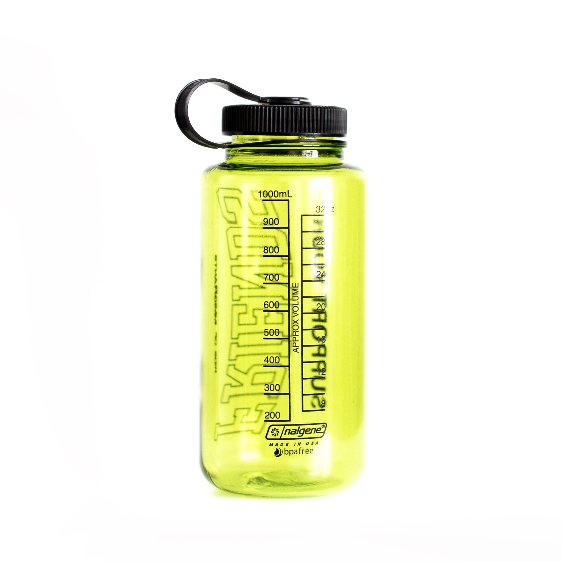 SUPPORT YOUR FRIENDS WATER BOTTLE - SAFETY GREEN