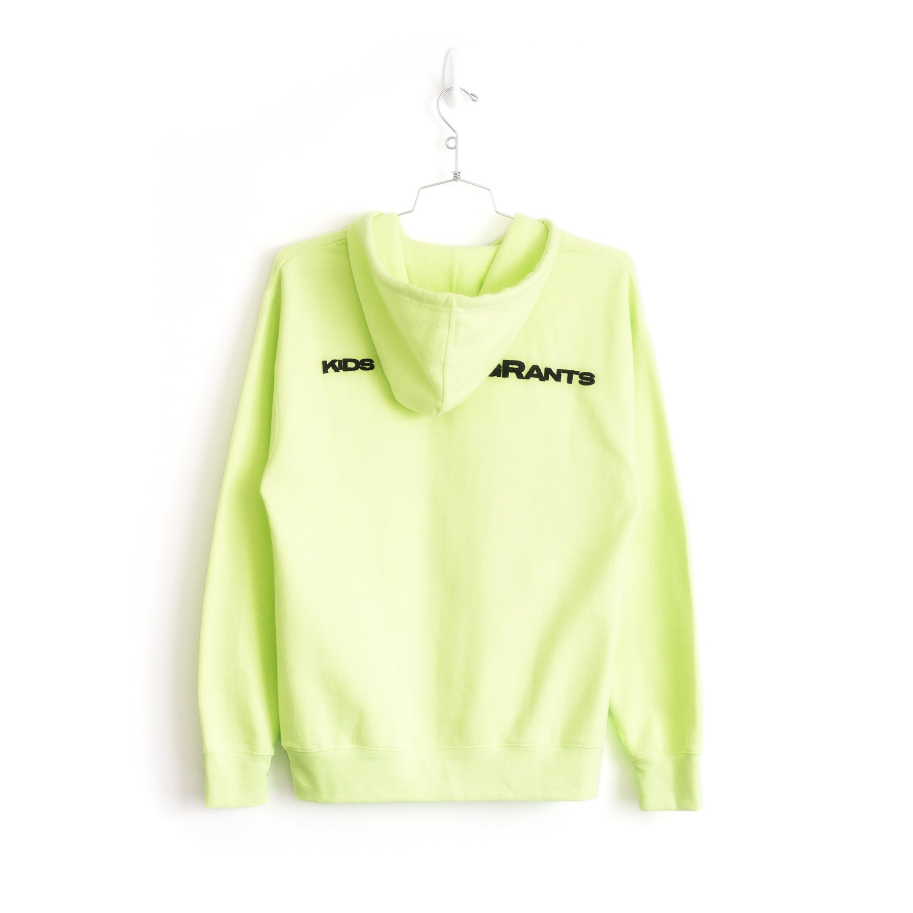 SUPPORT YOUR FRIENDS HOODIE - SAFETY GREEN