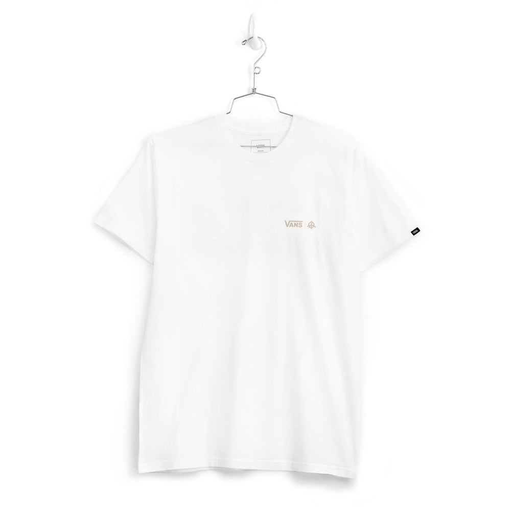 KIDS OF IMMIGRANTS x VANS T-SHIRT - WHITE