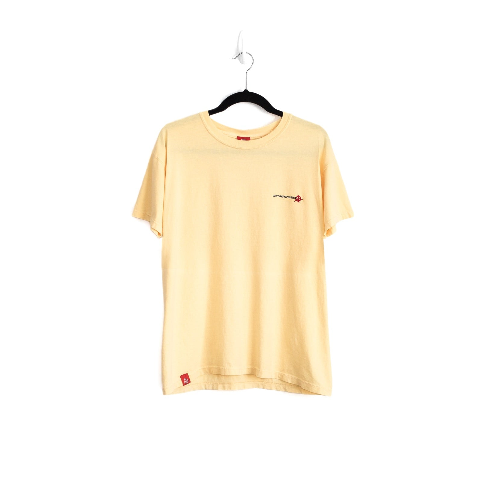 ANYTHING IS POSSIBLE ESSENTIAL T-SHIRT - SUMMER YELLOW