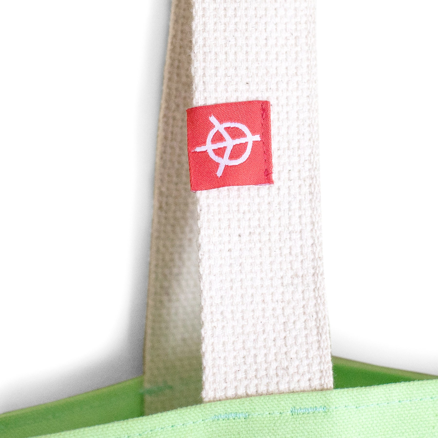 SPREAD LOVE TOTE - LIME