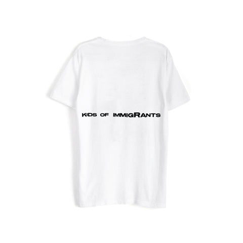 SUPPORT YOUR FRIENDS S/S T-SHIRT - WHITE