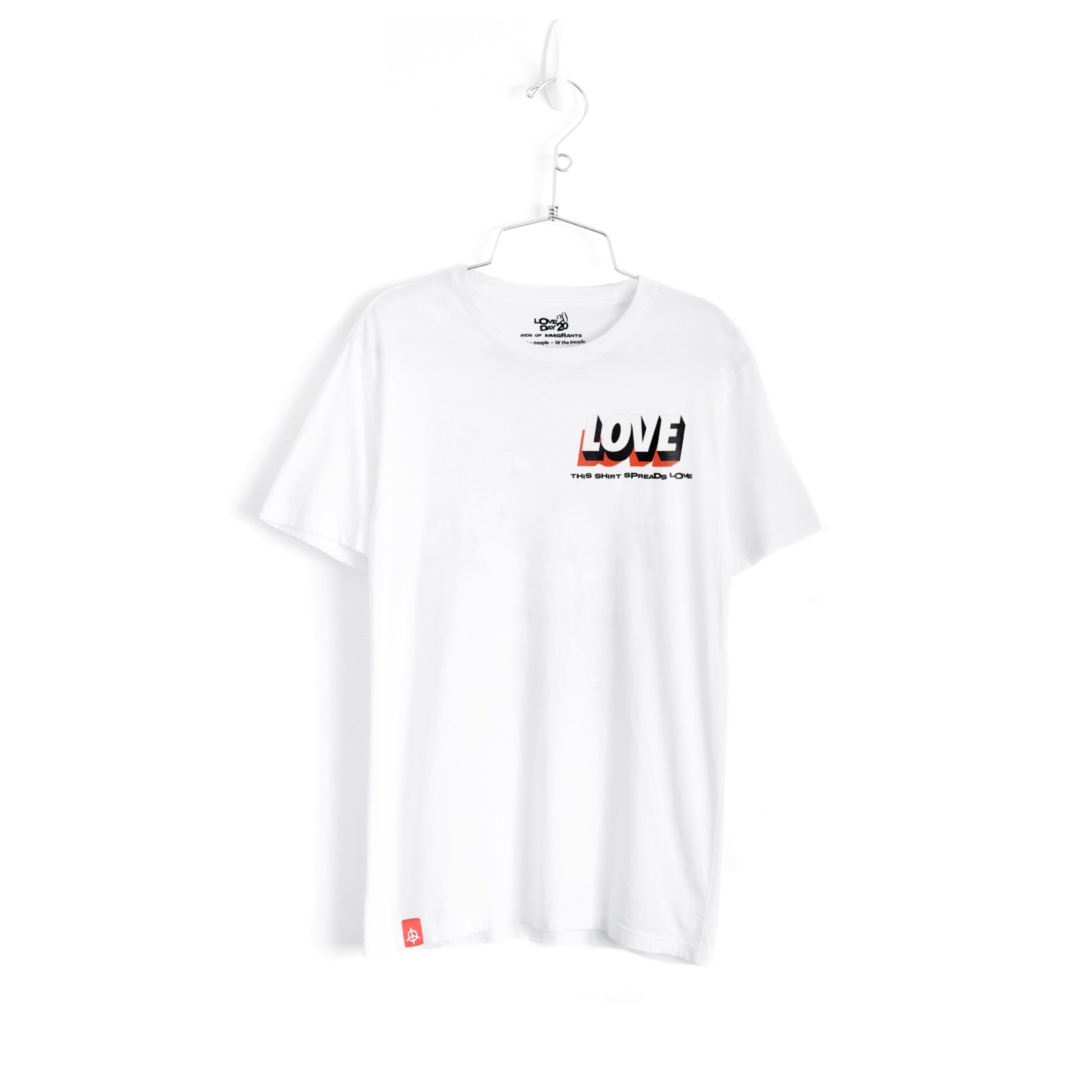 LOVEDAY BENEFIT  T-SHIRT - WHITE