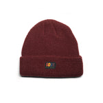 SPREAD LOVE 2.0 BEANIE - BURGUNDY