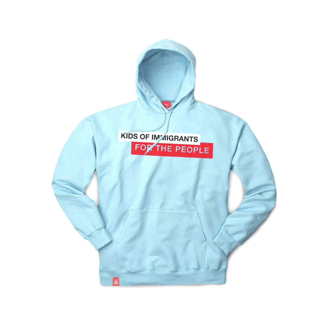 KIDS OF IMMIGRANTS FOR THE PEOPLE HOODIE - BLUE