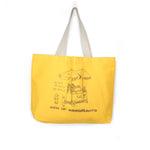 WE THRIVE TOTE BAG - MUSTARD YELLOW