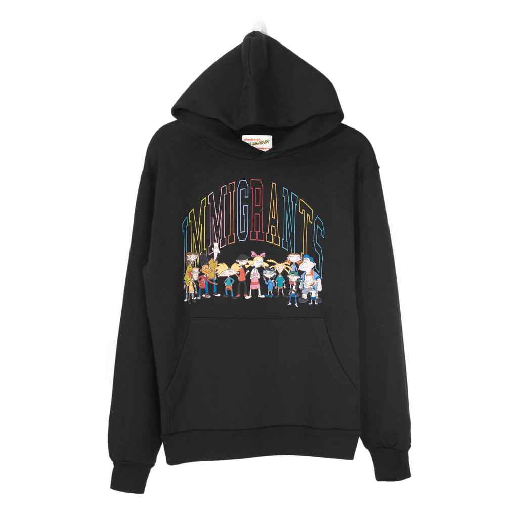IMMIGRANTS BY KIDS OF IMMIGRANTS HOODIE - BLACK
