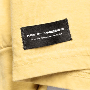 SPREAD LOVE 3.0 L/S T-SHIRT - MUSTARD