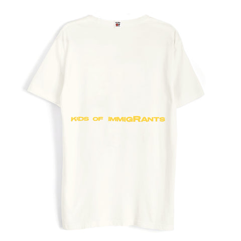 IMMIGRANTS 2.0 T-SHIRT - NATURAL