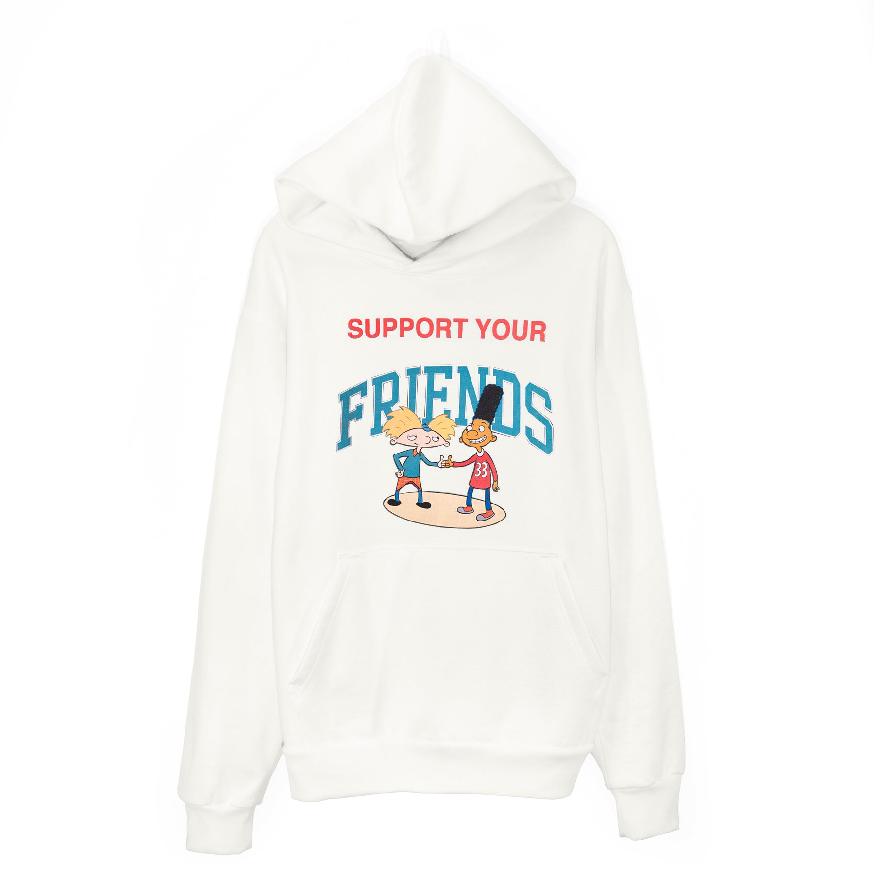 SUPPORT YOUR BEST FRIENDS HOODIE - IVORY