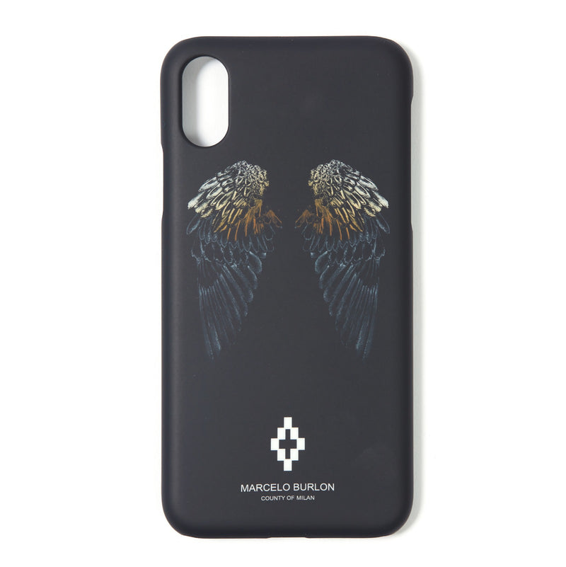 MARCELO BURLON COUNTY OF MILAN Iphone X Heart Wings Case