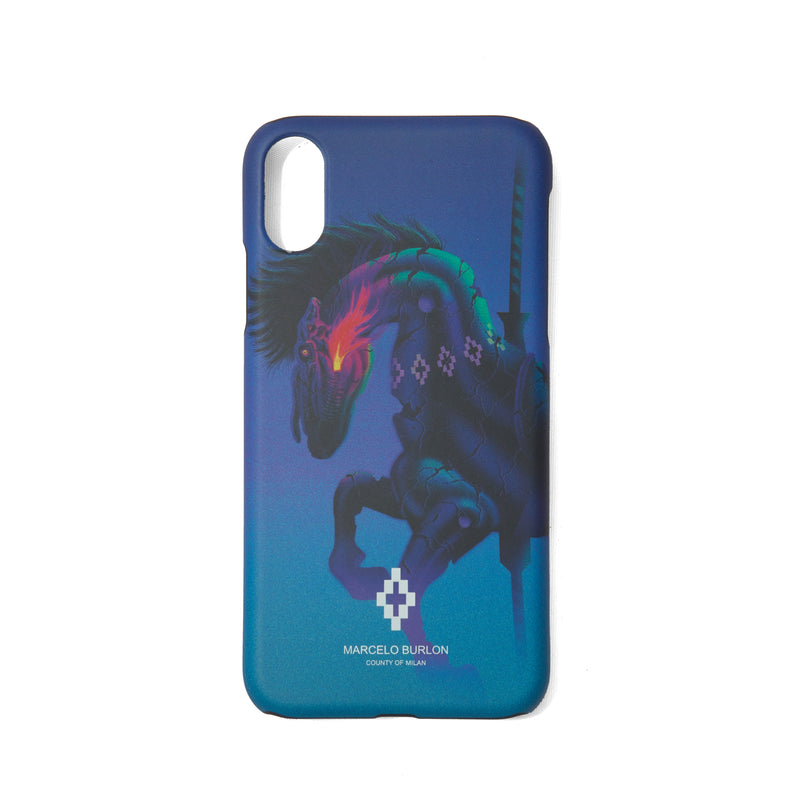 MARCELO BURLON COUNTY OF MILAN Horse iPhone XR Case