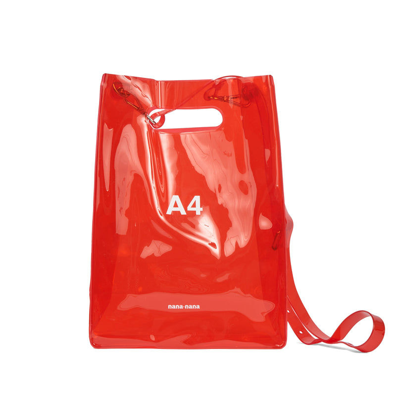 NANA NANA Red PVC A4 Bag