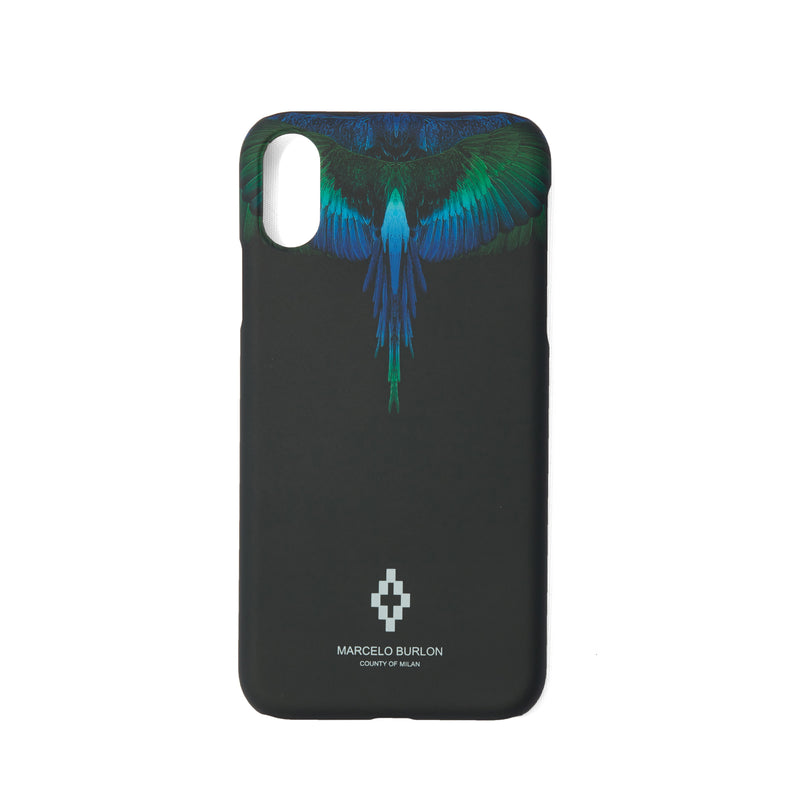 MARCELO BURLON COUNTY OF MILAN Blue Wings iPhone XR Case