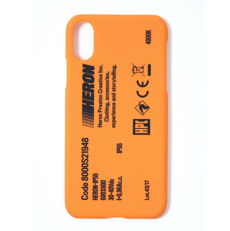 HERON PRESTON Stamp Iphone X Case