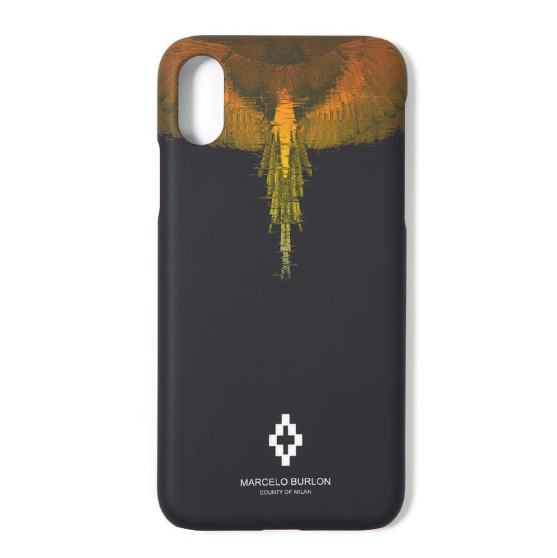 MARCELO BURLON COUNTY OF MILAN Iphone X Glitch Wings Case