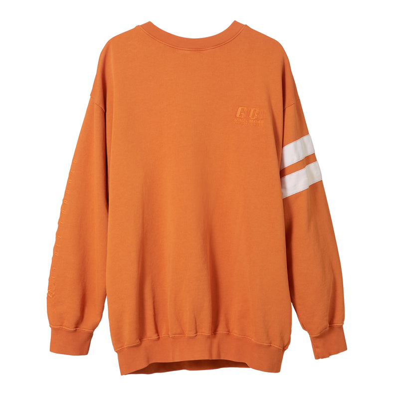 GCDS Orange Sweatshirt
