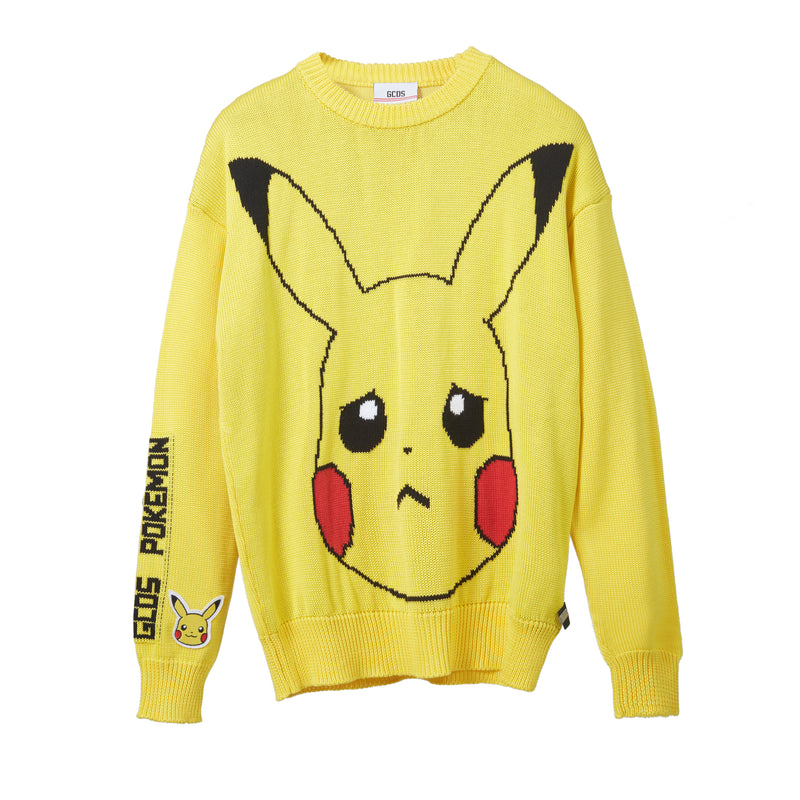 GCDS Pikachu Knitted Sweater
