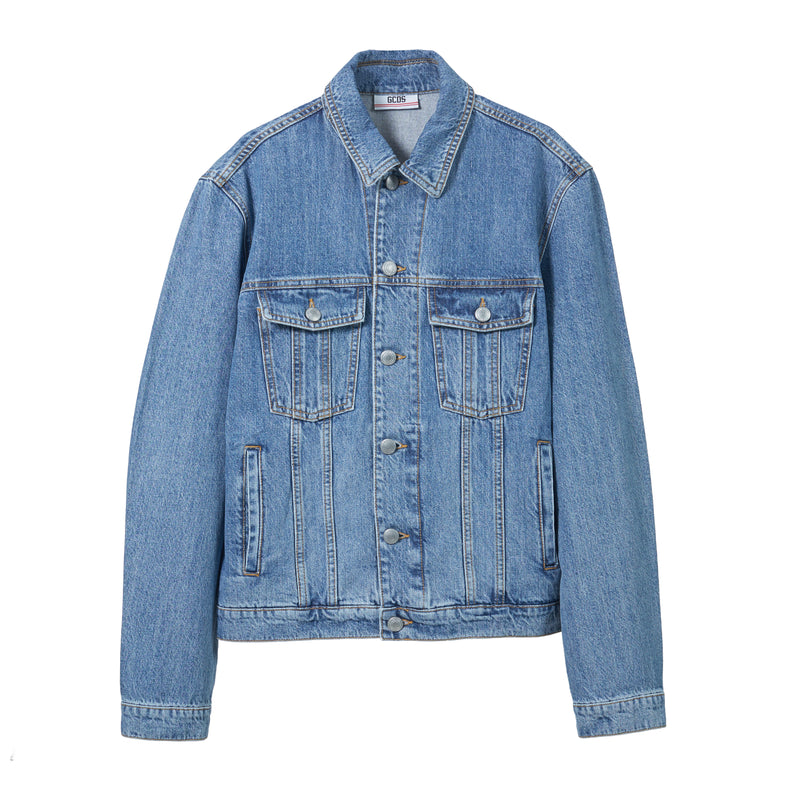 GCDS Logo Denim Jacket
