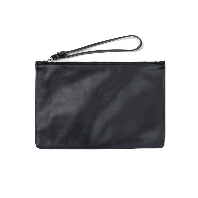 MARCELO BURLON COUNTY OF MILAN Embossed-logo Pouch