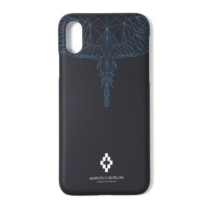 MARCELO BURLON COUNTY OF MILAN Iphone X Neon Wings Case