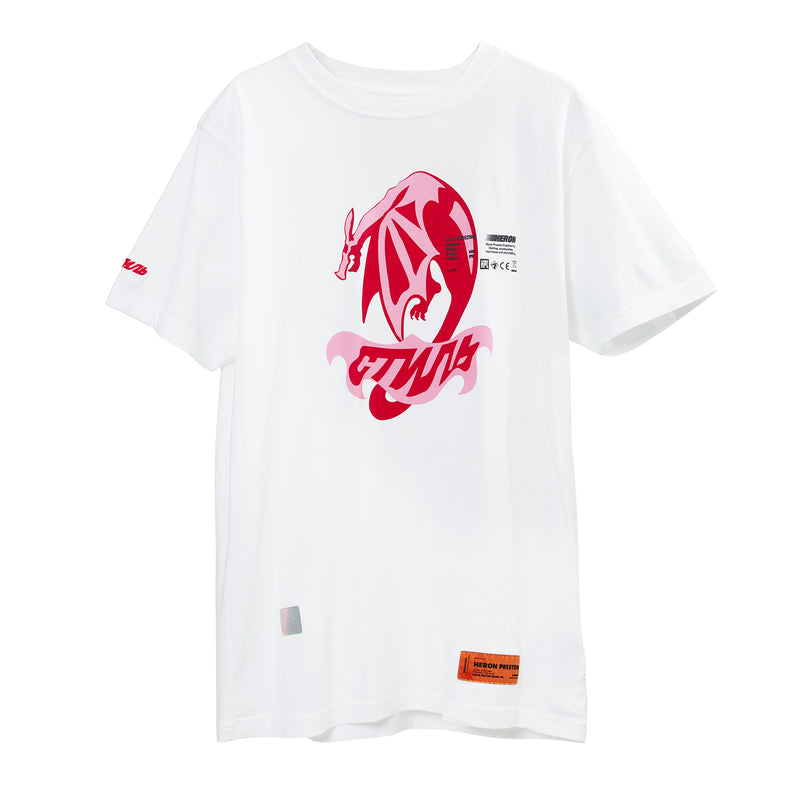 Heron Preston Dragon White T-shirt