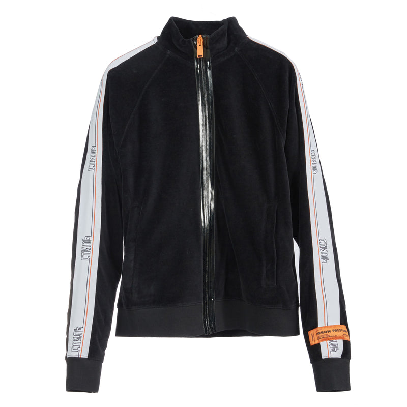 HERON PRESTON Velvet Tape Track Jacket