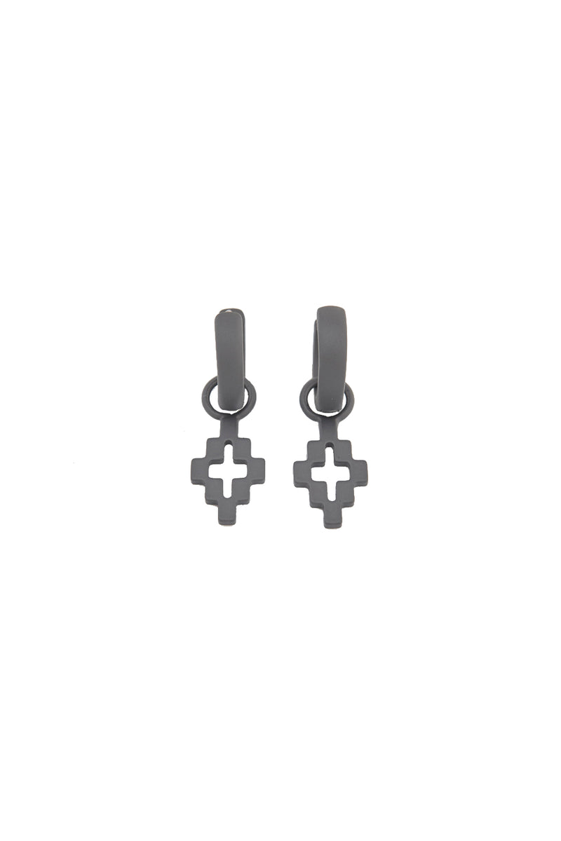 MARCELO BURLON CROSS PENDANT EARRINGS