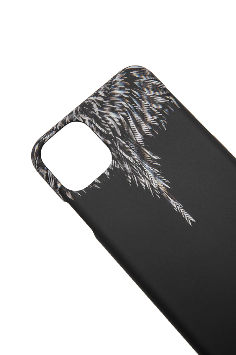 MARCELO BURLON SHARP WINGS XI R CASE BLACK BLUE FLUO PHONE CASE