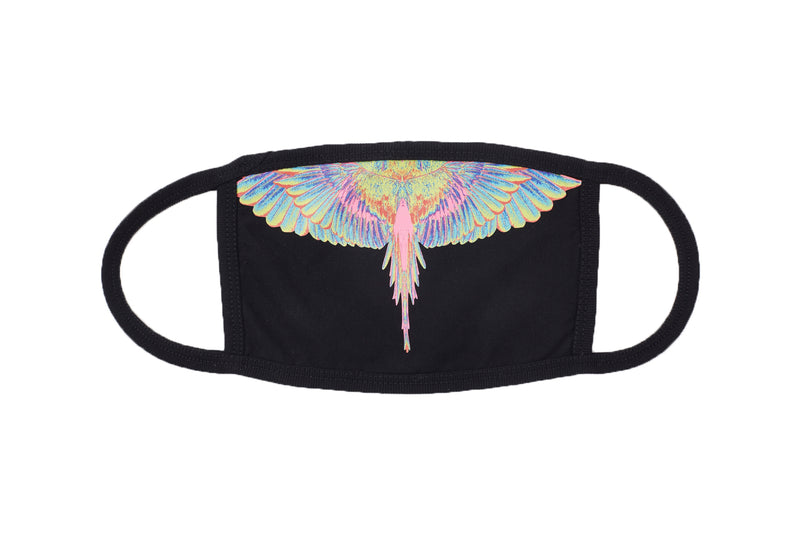 MARCELO BURLON FLUO WINGS FACE MASK