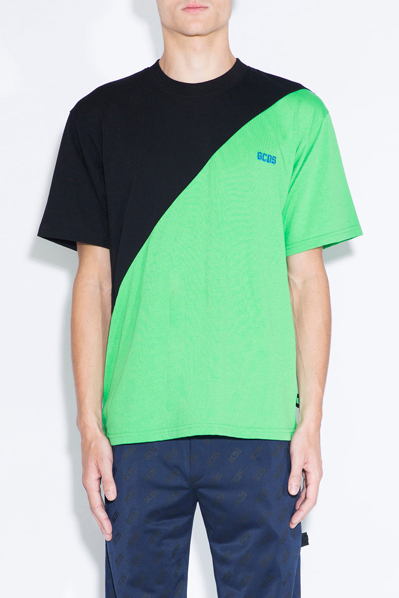 GCDS Color-block T-shirt