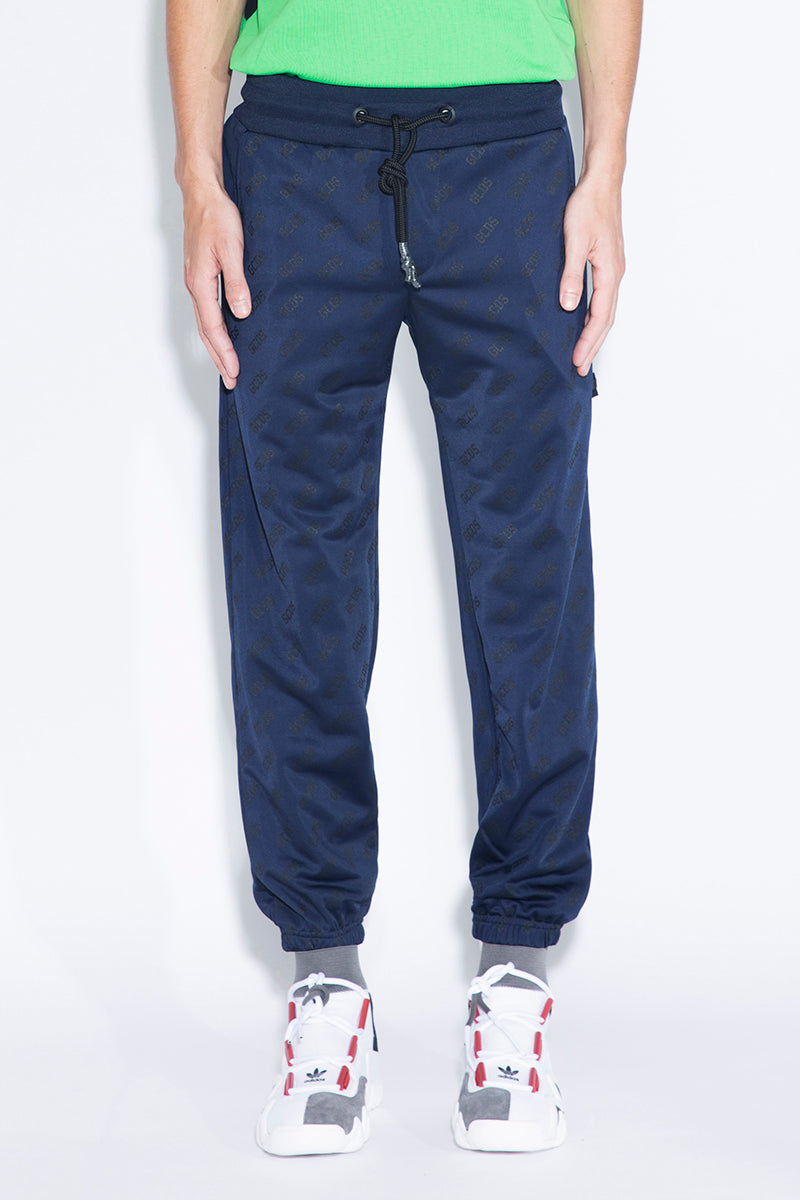 GCDS All-over Logo Pants