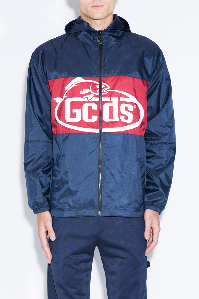 GCDS Color-Blocked Windbreaker