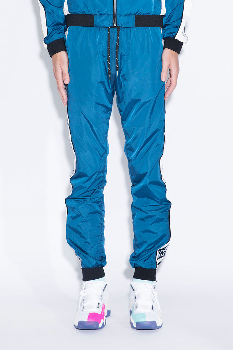 ANDREA CREWS Side-stripe Track Trousers