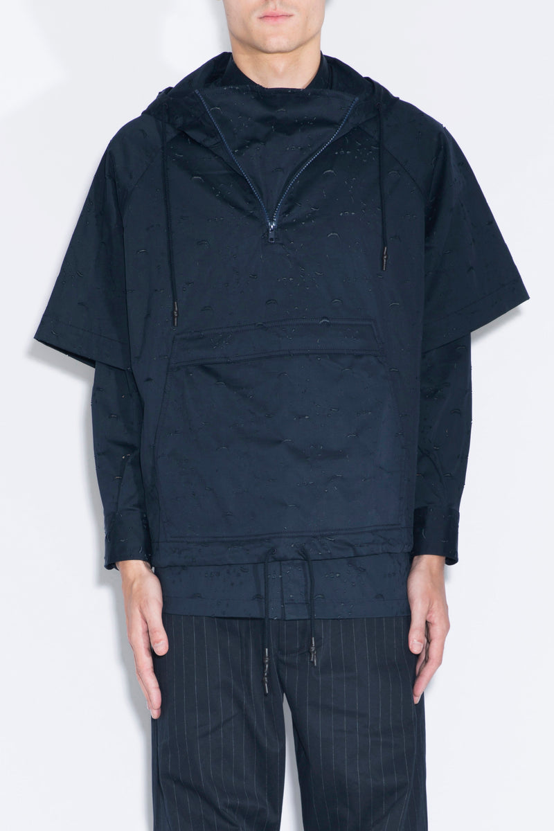 FENG CHEN WANG Short-sleeved Hooded Top