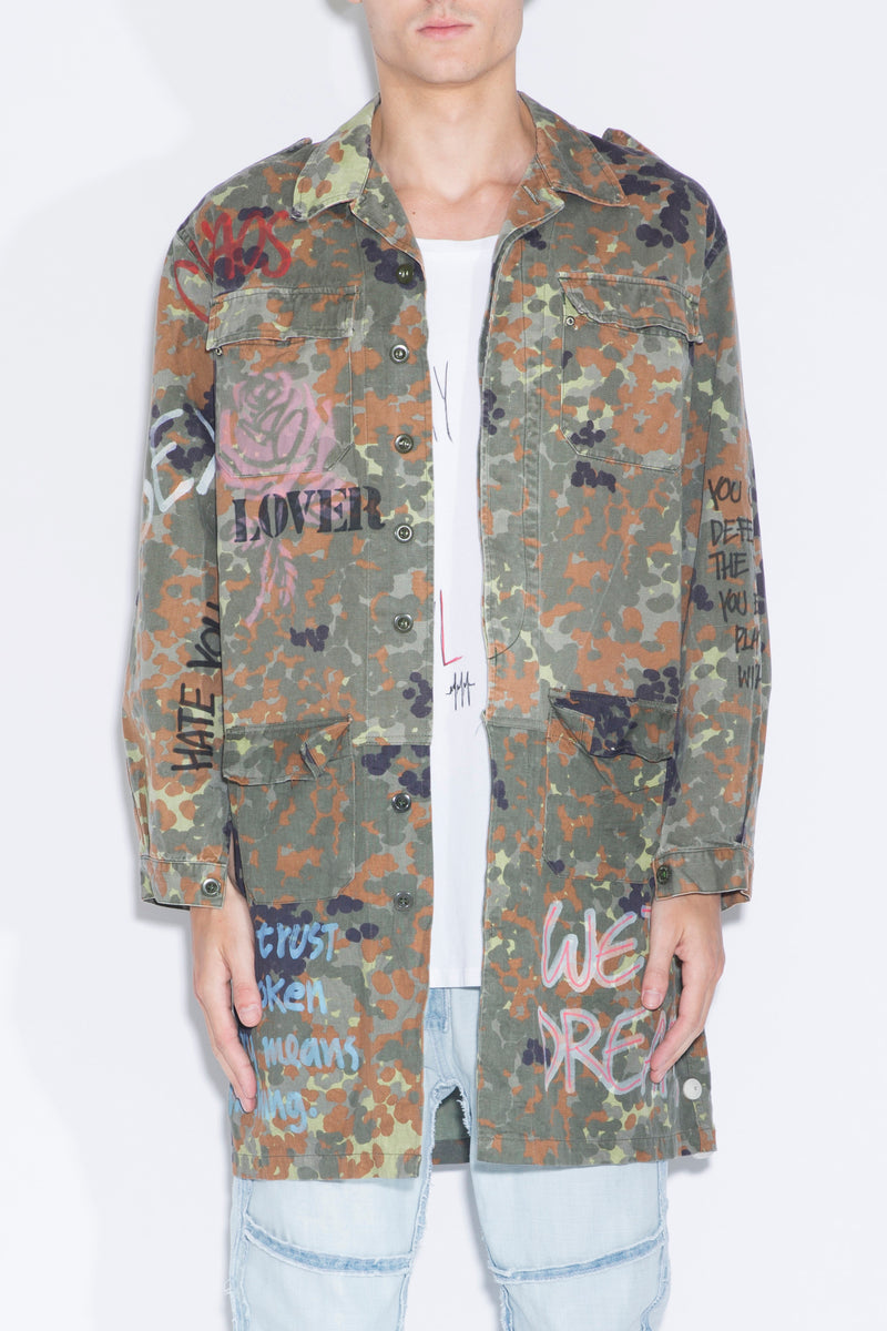 NIGHT MARKET Army Jacket