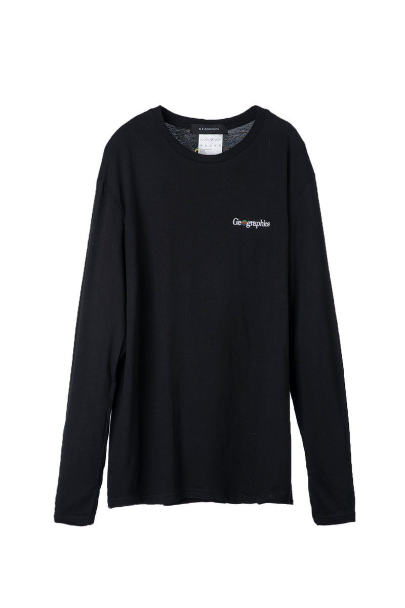 GEOGRAPHICS ESSENTIAL LONG SLEEVE T-SHIRT