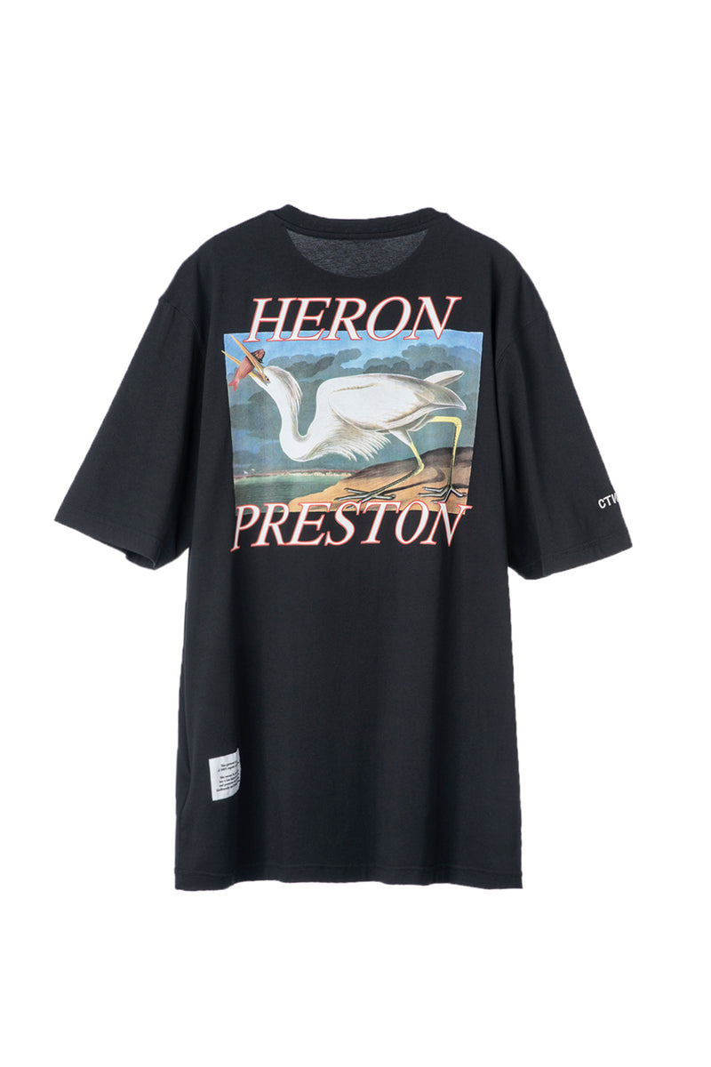 HERON PRESTON HERON CONCRETE BLACK BLUE SS T-SHIRT