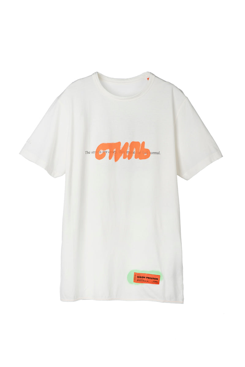HERON PRESTON  CTNMB SPRAY PACK BLACK MULTI REG T-SHIRT