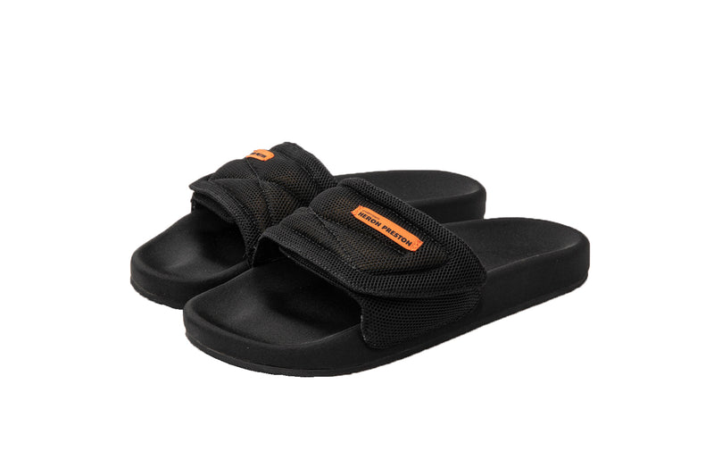 HERON PRESTON SLIDER BLACK NO COLOR SLIPPER