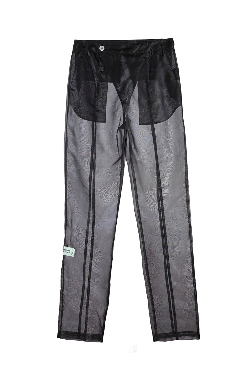 HERON PRESTON ORGANZA PANTS