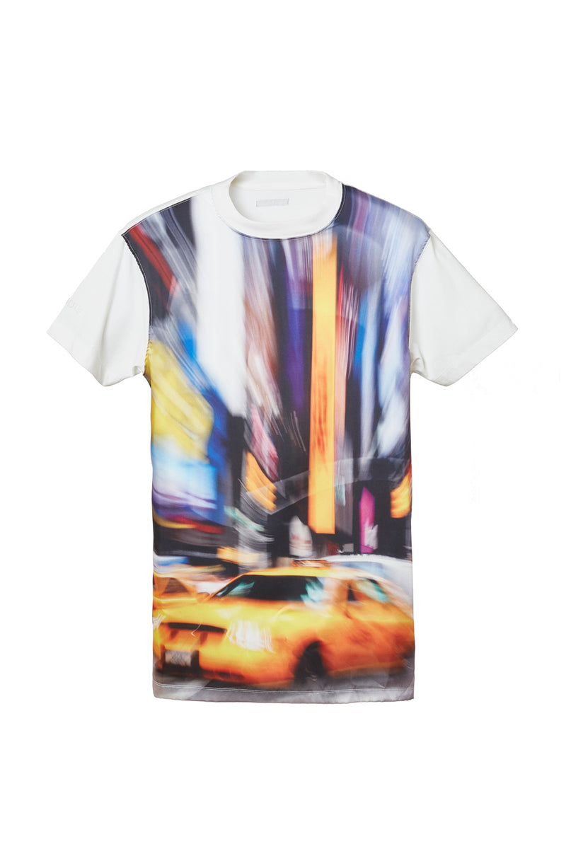 HERON PRESTON  SATIN TAXI  T-SHIRT