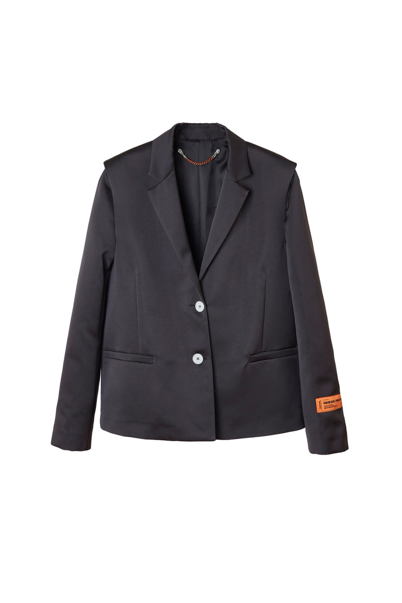 HERON PRESTON MIKADO TAILORED BLAZER OUTERWEAR