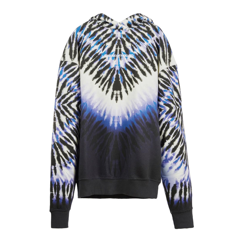 HOUSE OF HOLLAND Longline Tie-dye Hoodie