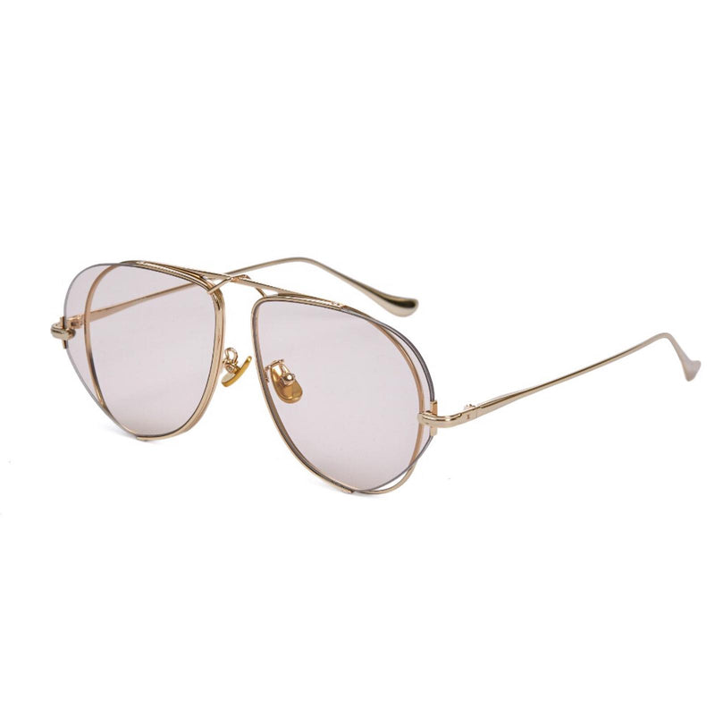 "FIXXATIVE ""Azulejo"" Aviator Sunglasses"