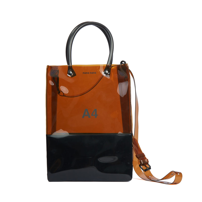 NANA NANA A4 Two-tone Shopping Bag