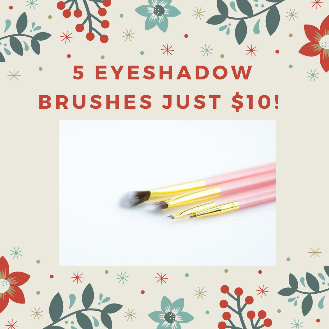 Eyeshadow brush bundle