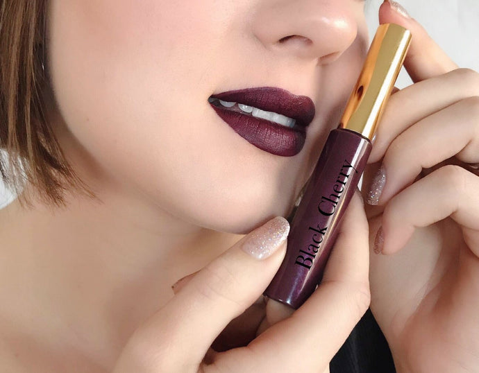 Black Cherry Matte Lipstick